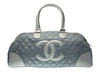 Chanel Grey Duffle Bag - Designer Vault - 1