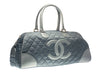 Chanel Grey Duffle Bag - Designer Vault - 2