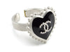 Chanel Black Heart Ring - Designer Vault