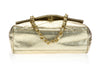 Chanel Vintage Metallic Gold Bag - Designer Vault - 4