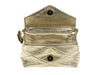 Chanel Vintage Metallic Gold Bag - Designer Vault - 6