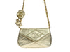 Chanel Vintage Metallic Gold Bag - Designer Vault - 8