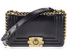 Chanel Smooth Small Boy Bag - Designer Vault - 1