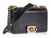 Chanel Smooth Small Boy Bag - Designer Vault - 2