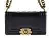 Chanel Smooth Small Boy Bag - Designer Vault - 4