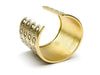 Chanel Coco Gold Wide Cuff