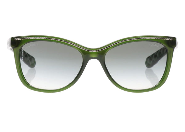 Chanel 6041 Green Crystal Sunglasses