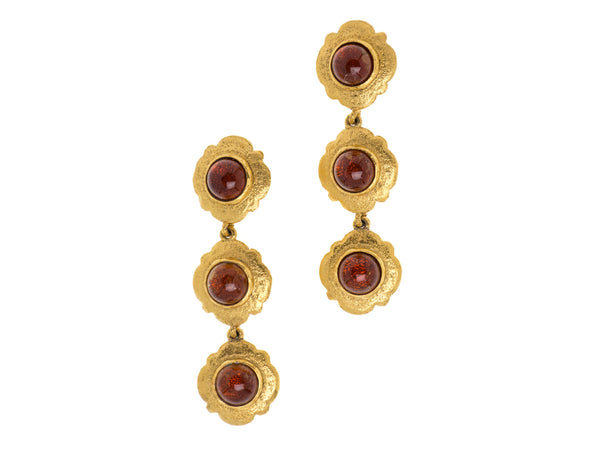Chanel Season 25 Vintage Earrings