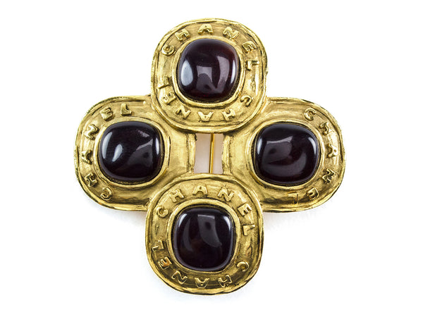 Chanel Season 26 Poured Glass Brooch