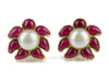 Chanel Vintage 94P Gripoix Pearl Earrings