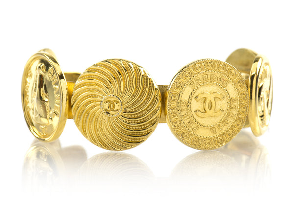 Chanel Vintage Astrology Cuff