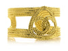 Chanel Vintage CC Braided Cuff