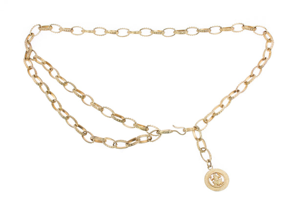 Chanel Vintage Frog Chain Belt