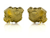 Chanel Vintage Gold Byzantine Gripoix Earrings