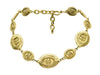 Chanel Vintage Gold CC Coin Necklace