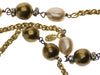 Chanel Vintage Gold Pearl & Gripoix Necklace