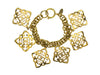 Chanel Vintage Gold Regency Bracelet