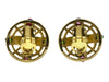 Chanel Vintage Gripoix Byzantine Earrings