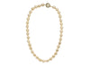 Chanel Vintage Oversized Ivory Faux Pearl Necklace