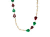 Chanel Vintage Rare Poured Glass Necklace