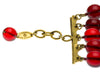 Chanel Vintage Red Beaded Bracelet