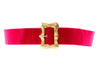 Chanel Vintage Red Tweed Belt