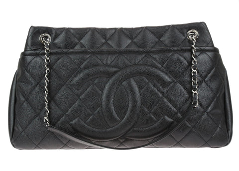 826c00cdcdb3 Buy chanel leather from Designer Vault | Chanel Consignment ...