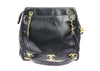 Chanel Vintage Black Lambskin CC Tote Bag