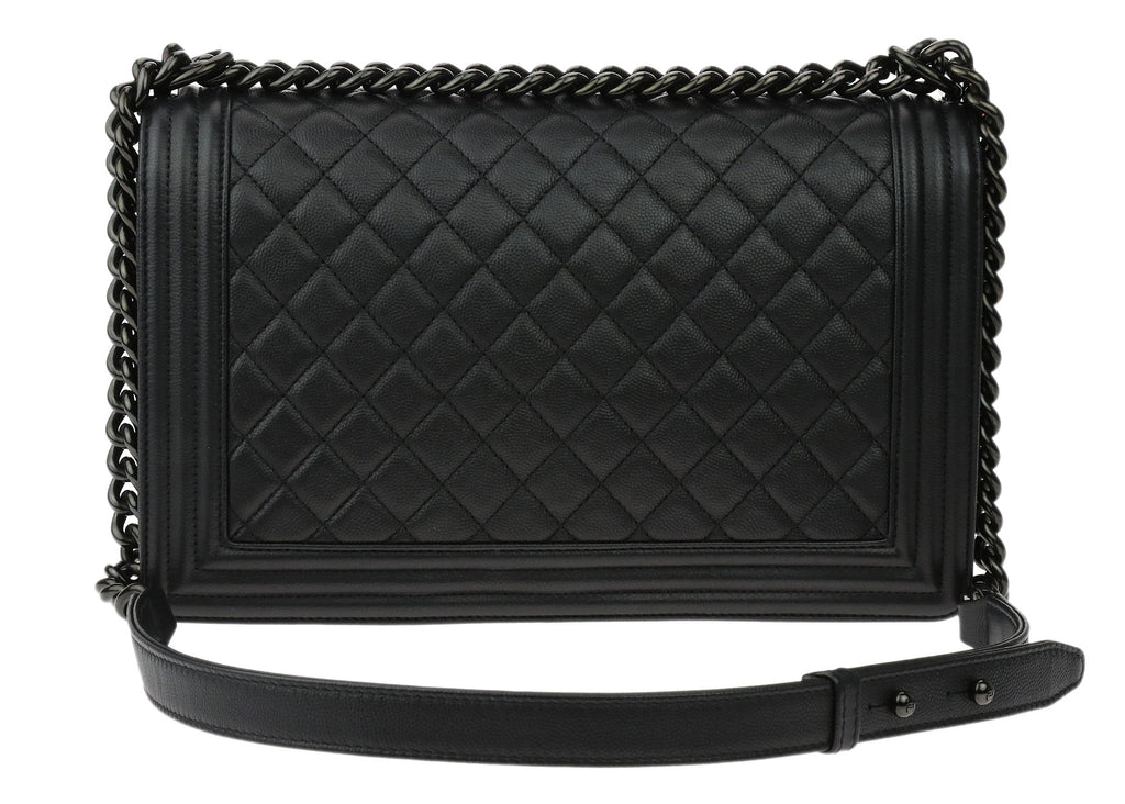 d457bacccb42 Chanel So Black Boy Flap Medium Bag | Stanford Center for ...