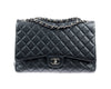 Chanel Black Caviar Maxi Single Flap Bag