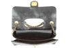 Chanel Black Glazed Calfskin Perfect Edge Flap Bag GHW