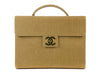 Chanel Burlap Briefecase Bag - Designer Vault