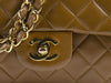 Chanel Brown Double Flap Bag - Designer Vault