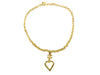 Chanel Heart Mirror Necklace - Designer Vault - 2