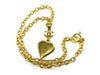 Chanel Heart Mirror Necklace - Designer Vault - 4