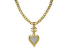 Chanel Heart Mirror Necklace - Designer Vault - 1