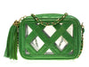 Chanel Vintage Transparent Camera Bag - Designer Vault - 1