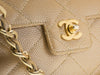 Chanel Single Caviar Flap Bag - Designer Vault - 7
