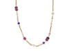 Chanel Purple Glass Necklace - Designer Vault - 1