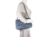 Chanel Slate Blue Lambskin Jumbo Double Flap Bag - Designer Vault - 11