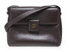 Chanel Vintage Brown Flap Shoulder Bag - Designer Vault - 1