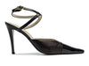 Chanel Leather Sandal Heels - Designer Vault - 1