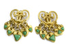Chanel Vintage 95P Teal Heart Earrings - Designer Vault - 1