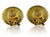 Chanel Vintage Gold Hat  Earrings - Designer Vault - 1