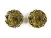 Chanel Vintage Gold Rhinestone CC Earrings - Designer Vault - 2