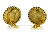 Chanel Vintage Gold Pearl Clip On Earrings - Designer Vault - 2