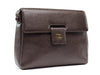 Chanel Vintage Brown Flap Shoulder Bag - Designer Vault - 2