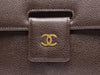 Chanel Vintage Brown Flap Shoulder Bag - Designer Vault - 7