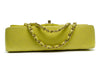 Chanel Vintage Yellow Lambskin Double Flap - Designer Vault - 3
