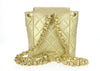 Chanel Vintage Lambskin Metallic Gold Backpack - Designer Vault - 3